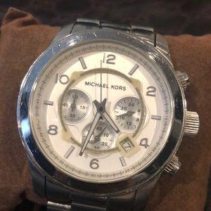 Stainless steel Michael Kors watch MK 8086